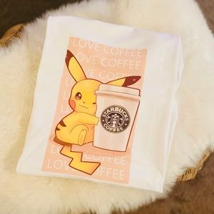 New Cute Pokemon Graphic T-Shirt